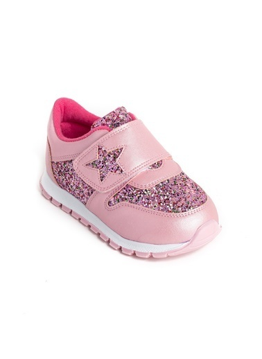 minipicco Minipicco Kız Cocuk Pembe Ortopedik Destekli Çocuk Spor Ayakkabı Pembe
